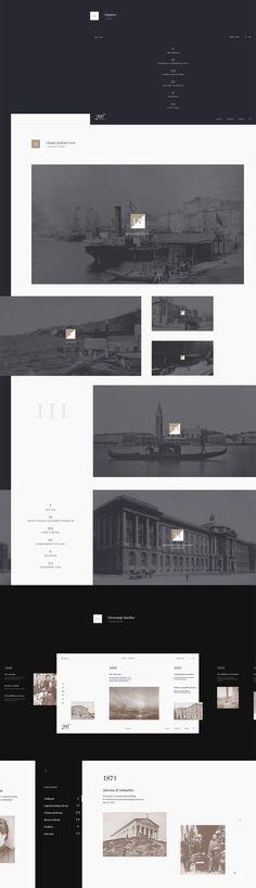 Ivan Aivazovsky Anniversary concept #webdesign #interaction #UI #200th