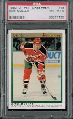PSA 8 1990 Opeechee OPC Premier NHL Hockey Card Kirk Muller #78 New Jersey Devils Sold And Photographed By Thegoodoldboys by Opeechee. $14.00. Buyer gets best looking card available if more than card is available.      ***For anyone that wants to buy more than 1 from me, Thegoodoldboys***  Amazon won't let me fix the shipping, so what has to be done is when you buy multiple items from me, you will get charged shipping for each one.  What I can do is then refund you t...