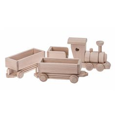 Beautifully handmade wooden train is a classic toy with a modern twist. It comes in natural wood (unpainted) or with a splash of colour of your choice. Match it with a set of our wooden blocks to make a perfect gift for any occasion: Birthday, Christmas, Christening or Baby