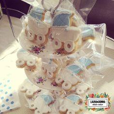 Baby Shower Benjamín / Celeste / Bebe / Ambientación / Dulce espera / Souvenirs / Festejo / Baby boy / Cookies giveaway / Sweet / By LAURA&DONNA / Contact us: lauraydonna@gmail.com