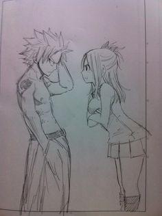 Nastu and Lucy by Hiro Mashima