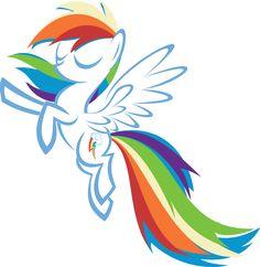 Practice My Little Pony: Friendship is Magic (c) Hasbro Rainbow Dash (c) Lauren Faust Rainbow Dash Love Rainbow, Rainbow Dash, Mlp My Little Pony, My Little Pony Friendship, Mlp Fan Art, Twilight Sparkle, My Ride, Detailed Image, Really Cool Stuff