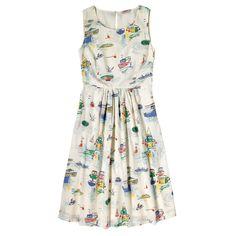 Sea View Sleeveless Dress | Cath Kidston |