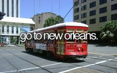 Go to new orleans
