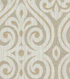 Upholstery Fabric-HGTV HOME Magic Hour Pearl - Curtain Possibility