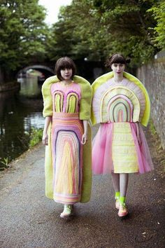 Magic exists. Who can doubt it, when there are rainbows and wildflowers * Design Catwalk