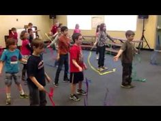 Trepak Nutcracker Ribbon Activity -1st Grade - YouTube
