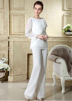 MagBridal Bridal Dresses Online,Wedding Dresses Ball Gown, romantic pant suits chiffon jewel neckline full length mother of the bridal dresses Bridal Dresses Online, Dresses Uk, Ball Dresses, Plus Size Dresses, Ball Gowns, Bride Dresses, Dress Online, Party Dresses, Sexy Wedding Dresses