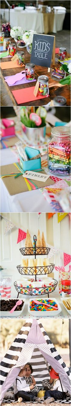 20 Creative Must See Wedding Ideas for Kids / http://www.deerpearlflowers.com/creative-wedding-ideas-for-kids/ #weddingideas #wedding #weddingreception