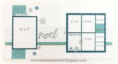 Karen Pedersen: December Play Group Scrappin' and Card Makin' Classes and Kits (City Sidewalks)