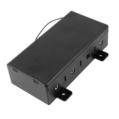 uxcell® Spring Loaded 4 x 1.5V D Size Battery Holder Container w Slide Cover >>> Check out the image by visiting the link.