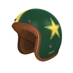 helmade ONE Retro Star Check this out! My very personal #helmade design on helmade.com :https://www.helmade.com/en/helmet-design-helmade-one-open-face-retro-star.html