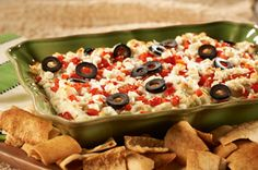 Layered Hot Artichoke & Feta Dip recipe