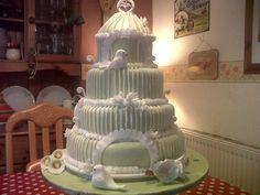 birdcage cake - via @Craftsy