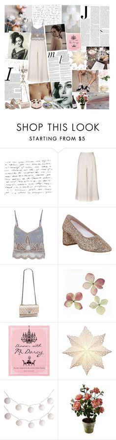 """""""♡ BOTS - CONTEST 3; DINNER PARTY ♡"""" by heartbreakmotel ❤ liked on Polyvore featuring Topshop, Miss Selfridge, Office, Vanity Fair, Chanel, Whiteley, Pier 1 Imports and Kelly Wearstler"""