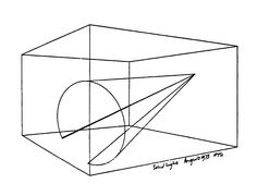 ◙ ANTHONY MCCALL (USA): LINE DESCRIBING A CONE | instalace – projekce bez plátna  > www.pifpaf.cz/cs/paf-2011-svetlo-a-tma-zive-animace/551-anthony-mccall-line-describing-a-cone-