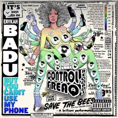 My morning commute is live right now! Badu has done it again. My head is bobbing. I haven't felt this great about music in a minute...since listening to @mayaazucena Loving this! That feel good that good shit. Ladies rule! #butyoucantusemyphone #baduism #erykahbadu #mixtape