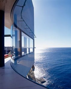Holman house, Australia. Situated on the edge of a 60m cliff