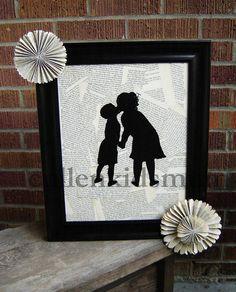 Cullen Kids Mum: Silhouette Picture Tutorial
