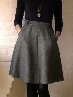 best and stylish business casual work outfit for women 33 Fall Outfits, Cute Outfits, Office Outfits, Winter Outfits With Skirts, Office Wear, Simple Outfits, Sweater Outfits, Winter Mode, Fall Winter