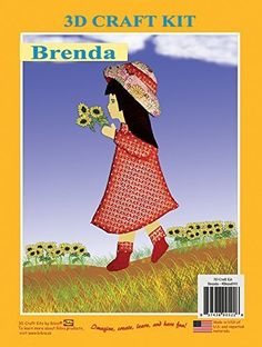 3D Craft Kit Brenda Doll >>> Click on the image for additional details.