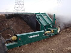 Tow Behind Series | Manufacturer of Large Scale Commercial Composting Equipment - Windrow Turner Machinery