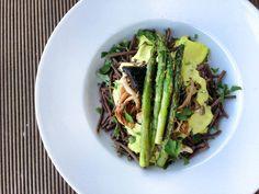 Smotanovo - cesnakové paleo cestoviny Portobello, Asparagus, Paleo, Canning, Vegetables, Cookie, Food, Diet, Studs