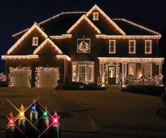 Christmas at Winterland 100 Light Incandescent Clear Icicle String I Clear Holiday Lighting Icicle Lights Incandescent lights Christmas at Winterland Clear 100 Light Incandescent Clear Icicle String Indoor / Outdoor