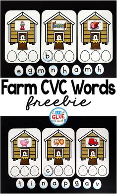 Farm CVC Words is pe