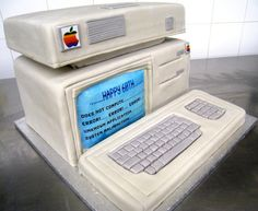 Computer Cake by Whippt Desserts & Catering Computer Cake, Craft Wedding, Grooms, Macarons, Catering, Sculpting, Desserts, Tailgate Desserts, Boyfriends