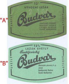 PEMD 1 ks stará etiketa VÝVOZNÍ LEŽÁK BUDVAR A (6397827707) - Aukro - největší obchodní portál