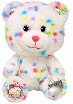 NEW Build a Bear Confetti Sprinkles Cupcake Baby Teddy Buddies 7 in. Stuffed Toy Animal In Stock Now at http://www.bonanza.com/booths/TweetToyShop