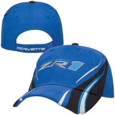 C6 ZR1 Corvette Vanishing Point Blue Hat