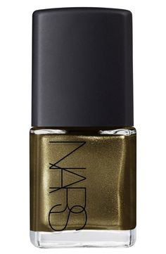 Currently crushing on this chic olive green nail color for fall.
