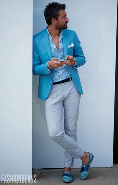 Dont Powder me blue  #menswear #simplydapper #stylish