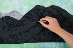 Beginning Landscape Quilting by Nancy Zieman
