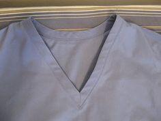 Kadiddlehopper: Tutorial: Bound Neckline on Scrubs better way