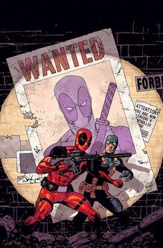Deadpool and Bob by Jason Pearson