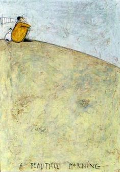 A Beautiful Morning by Sam Toft – Sam Toft And Her Wonderful World of Mustard New Artists, Famous Artists, British Artists, Arte Country, Beautiful Morning, Naive Art, Whimsical Art, Illustration Art, Illustrations