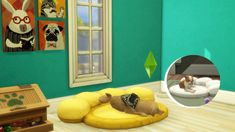 """magicalgirlsimmer: """" Hi again! I've been working on a few pet bed conversions from the sims 2 and the sims I was going to make these for my advent calendar - but sadly my daughter and I both got. Living Room Sims 4, Sims 4 Pets, Play Sims 4, Large Pet Beds, The Sims 4 Packs, Sims 4 Cc Kids Clothing, Sims 4 Gameplay, Sims 4 Cc Shoes, Sims Four"""