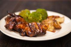 Hoisin Glazed Grilled Chicken