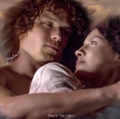 """Outlander Love & Art — """"He wrapped his arms around me, and pulled me..."""