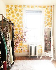 Vintage Rose Wallpaper — KATE ZAREMBA COMPANY