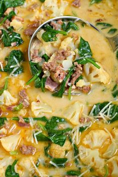 Low Carb Keto Zuppa Toscana Soup Recipe on Yummly. @yummly #recipe