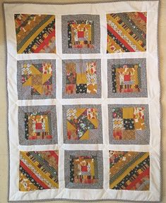 Ros's sampler quilt Small Groups, Workshop, Students, Colours, Quilts, Sewing, Scrappy Quilts, Atelier, Dressmaking