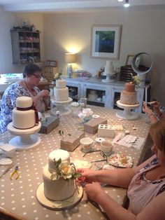 Wedding Design Course in full swing!....
