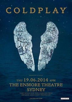 Coldplay - Ghost Stories - LIVE Enmore Theatre, Sydney