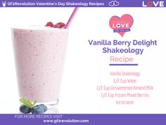 Vanilla Shakeology: Vanilla Berry Delight
