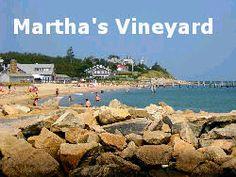 Martha's Vineyard Beach Scene