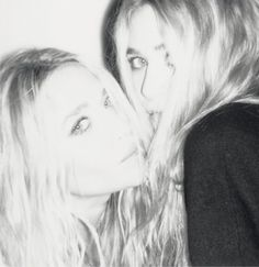 Mary-Kate and Ashley Olsen for Self Service magazine. #style #fashion #beauty #olsentwins